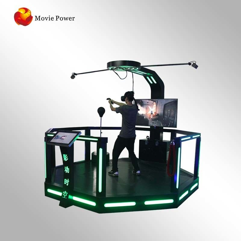 Commercial Investments Standing Super Hero 9D VR Cinema